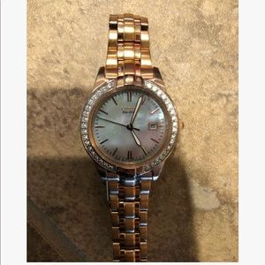 Citizen rose gold watch